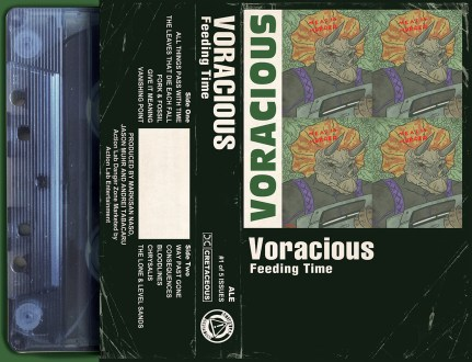 VORACIOUS: Feeding Time #1 CVR B (Smiths Album Tribute/Cassette Wraparound Variant by Wuvable Oaf creator Ed Luce!)