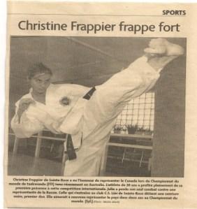 Chronic fatigue Christine