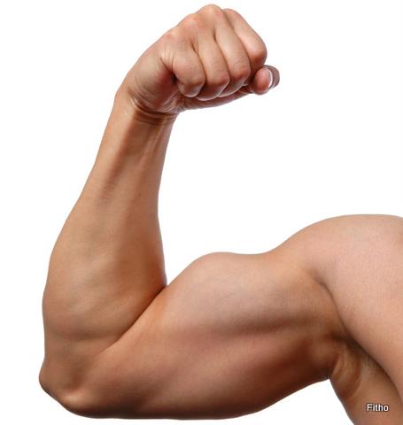 Close up of man's arm