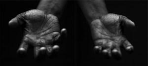 hands of J
