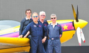 Extra 300L mark jefferies tom cassells chris burkett john taylor