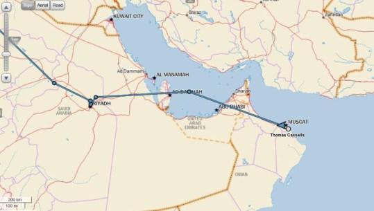 Riyadh-Muscat