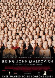 Being John Malkovich poster - small
