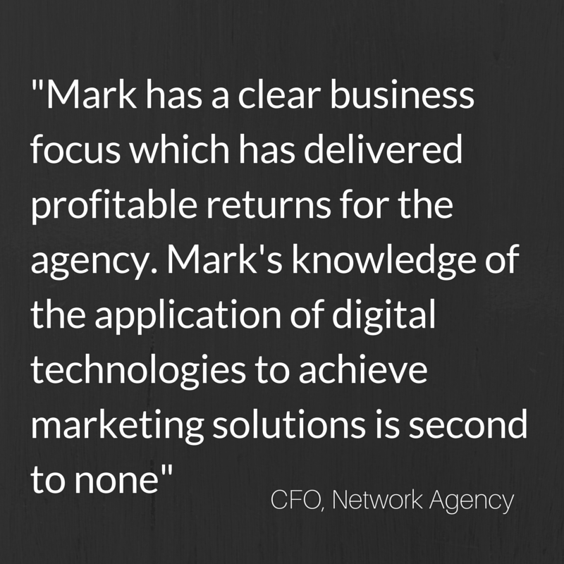 Mark Kelly growth consultant testimonial digital marketing