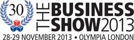 The Business Show 2013 logo