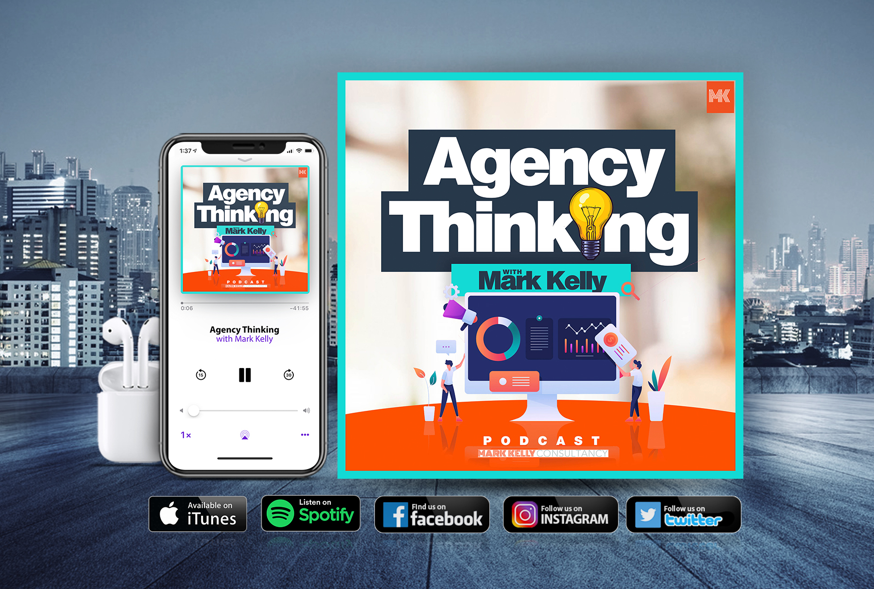 Agency Thinking podcast graphic