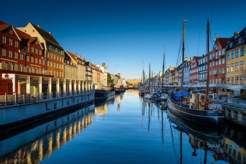 Early Morning in Nyhavn, Copenhagen