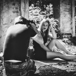 Making-Of Portrait Shooting – lost place