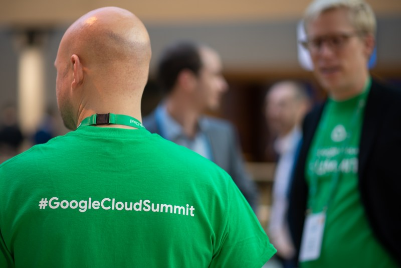 Google Cloud Summit 2018 Event Photographer