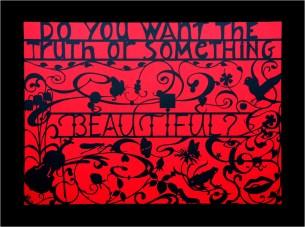 Beautiful #2, Mark L'Argent, Lettering Artist