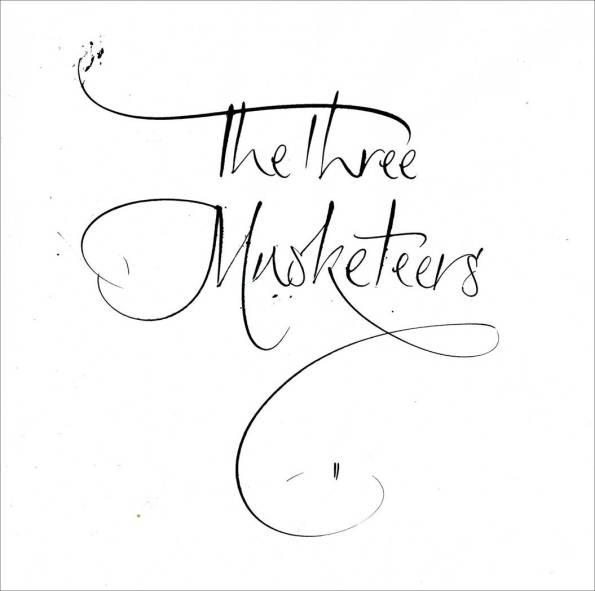 Three Musketeers Artwork. Mark L'Argent - Lettering Artist