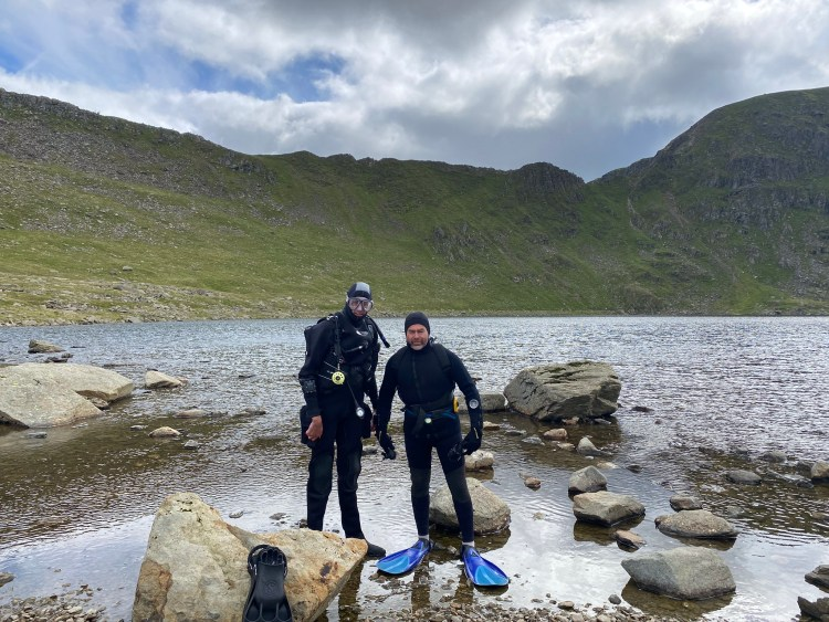 Red Tarn Altitude Diving