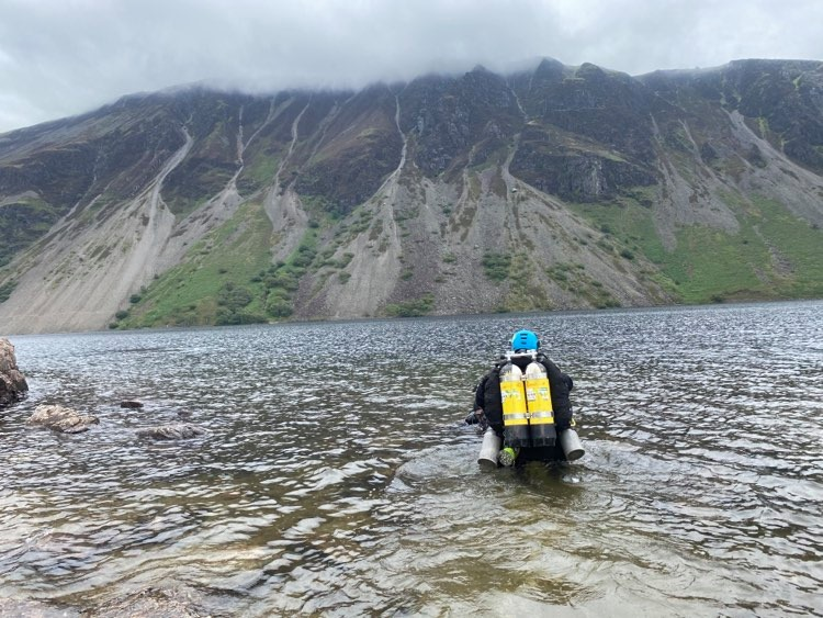 Tec Diving in Wastwater