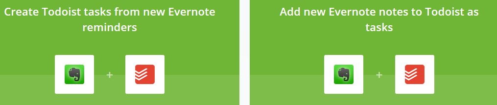 create todoist task from evernote reminders
