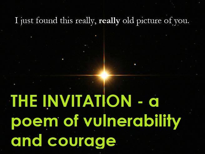 The invitation poem