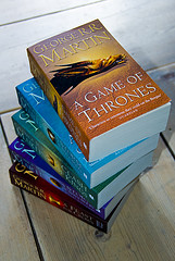 A Song of Ice and Fire series by George RR Martin