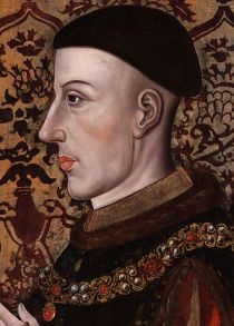 "henry v of england Painting is in ""The Ro..."