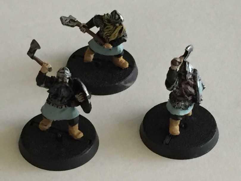 LOTR SBR Dwarf Warriors