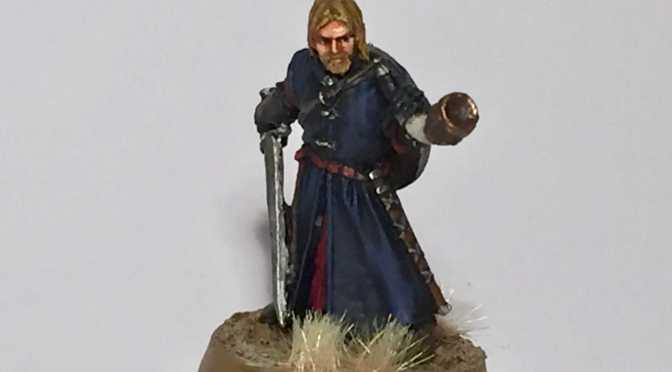 Boromir Miniature Painted