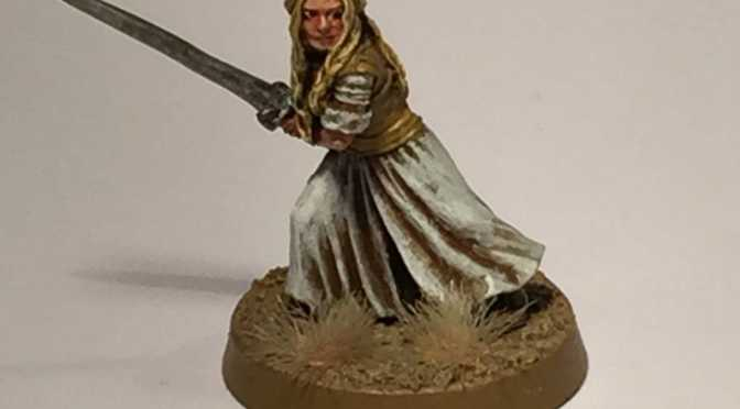 Eowyn Miniature Painted