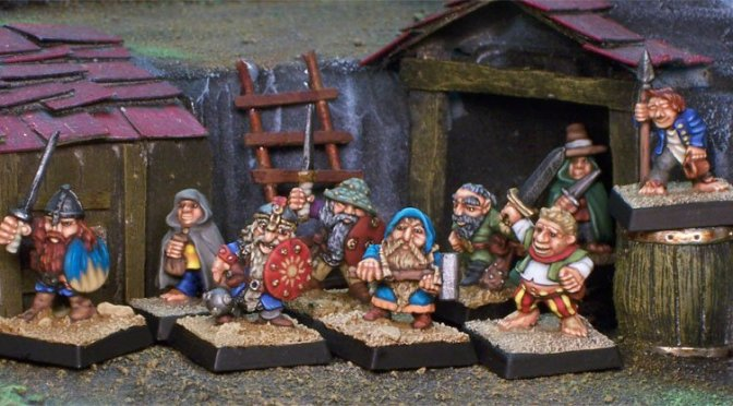 Halflings and Dwarves