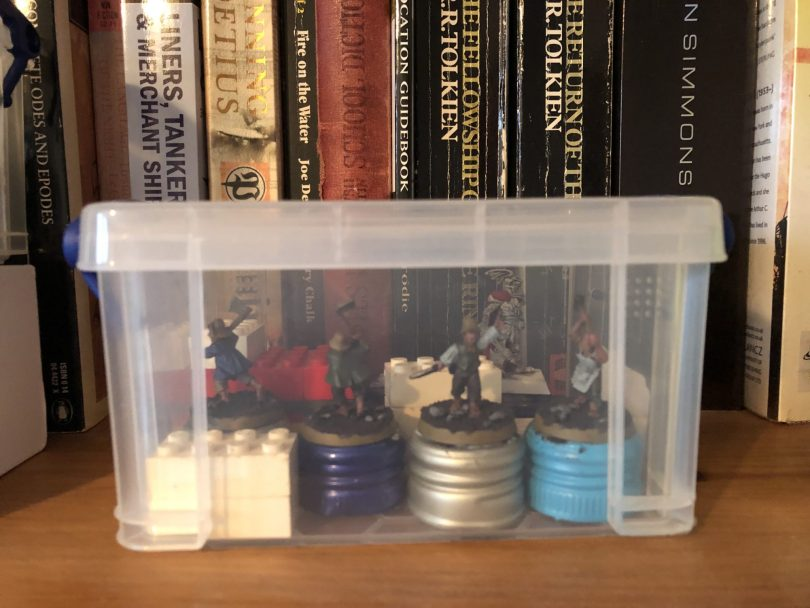 Miniature Paining storage box