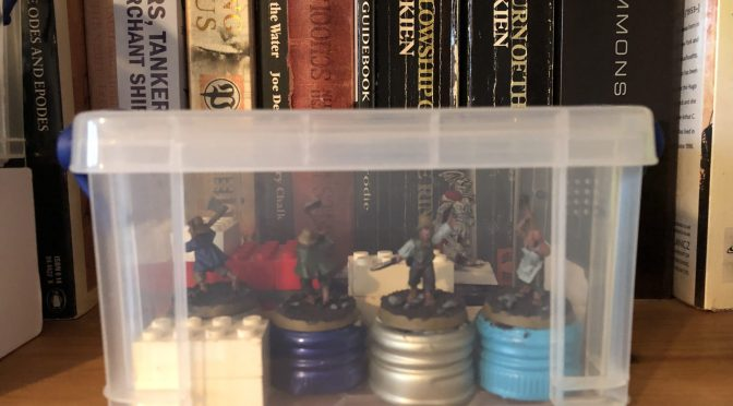 How to Paint Miniatures: Storing Miniatures During Painting