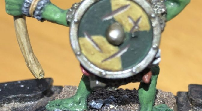How to Paint Shields for Wargames Miniatures – a great tip