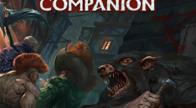 The Horned Rat Companion cover