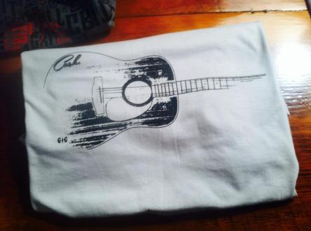 Cash Guitar - white