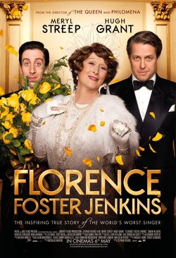 """Florence Foster Jenkins"" DVD Cover"