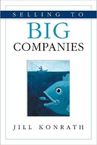 Book Cover: Selling to Big Companies