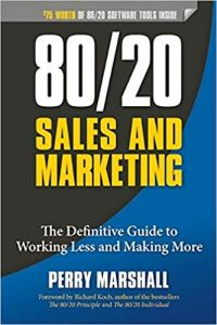 Book Cover: 80/20 Sales and Marketing