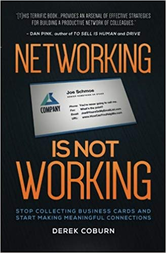 Book Cover: Networking Is Not Working