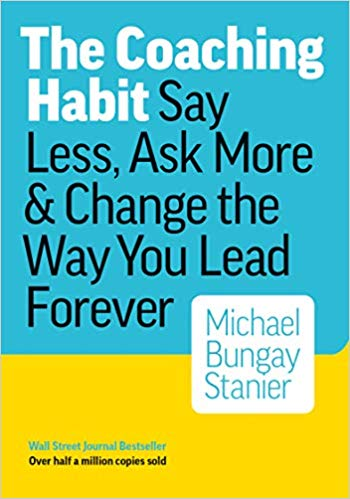 Book Cover: The Coaching Habit