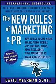Book Cover: The New Rules of Marketing and PR