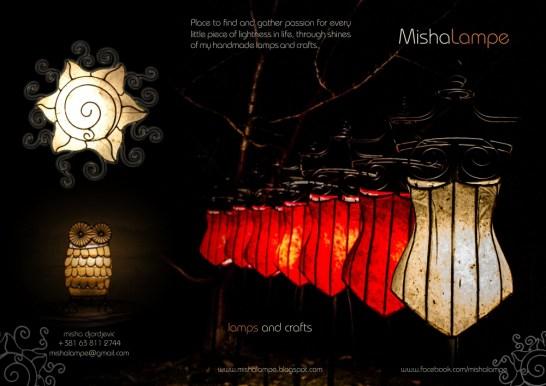Lamp brochure front side