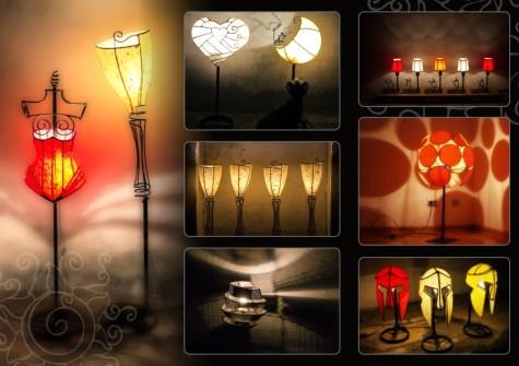 Lamp brochure inner side