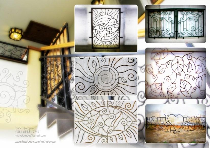 Metal fences brochure inner side