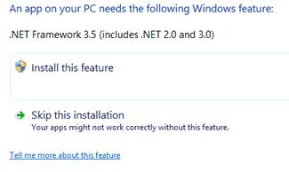 Windows 8.1 .NET 3.5 Installation Problem and Solution