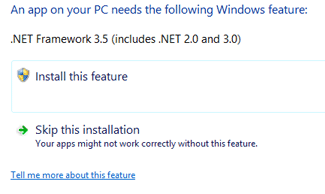 Windows 8.1 .NET 3.5 Installation Problem and Solution