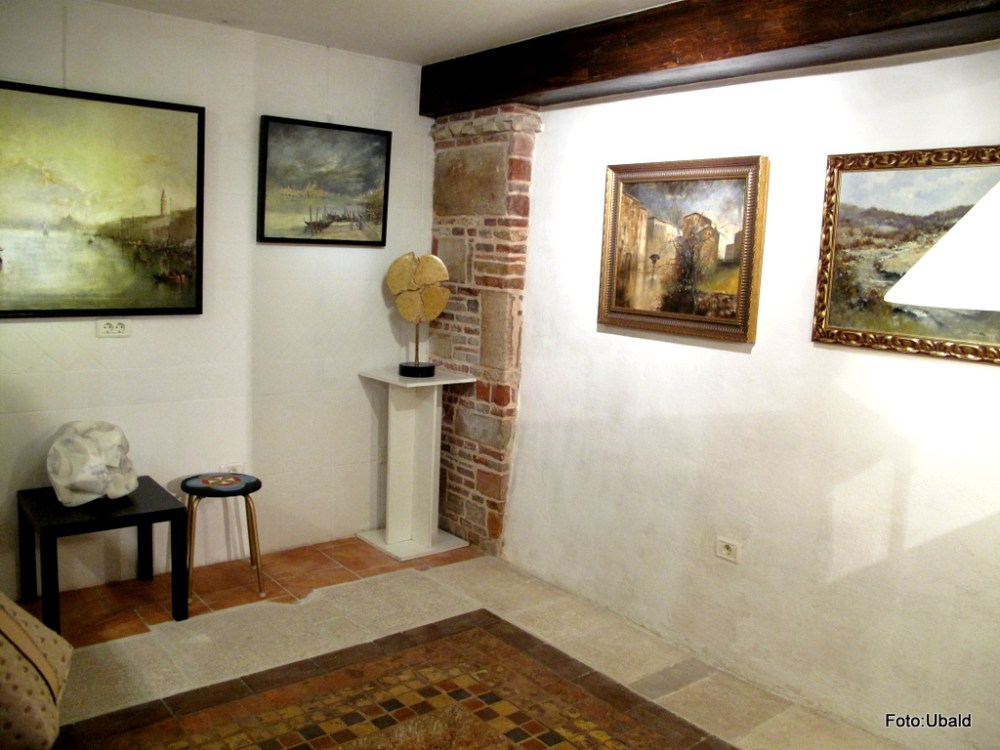 Exhibition in Gallery BF, Piran  (1/6)