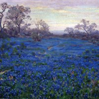 Julian Onderdonk and his blue landscapes