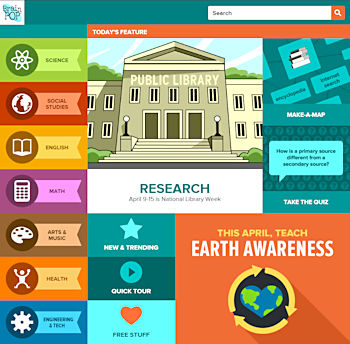 BrainPOP quiz site