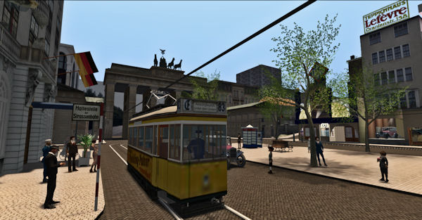Unter den Linden, Second Life