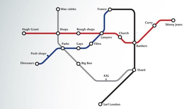 Simplified Map Of London.Simplified London Underground Map