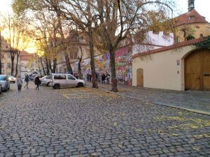 Visiting Prague - John Lennon Wall