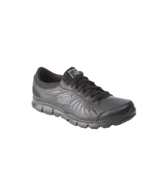 skechers chaussure a lacets antiderapante eldred pour femmes