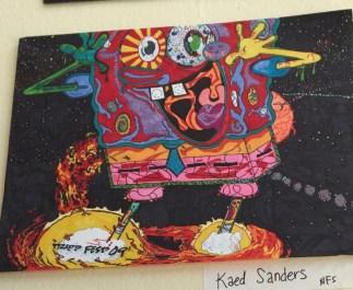kaed sanders PAAP art