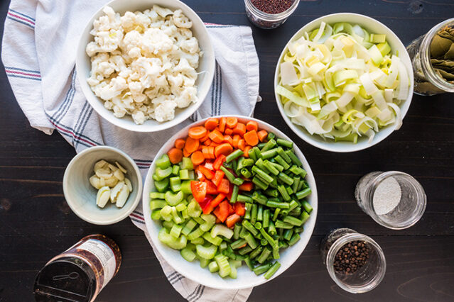 home vermented vegetables giardiniera recipe